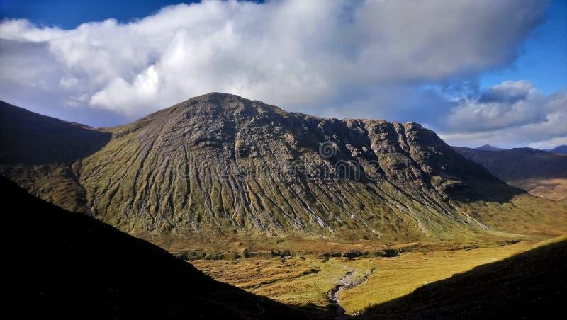 Montagna di Glencoe fotografie stock libere da diritti