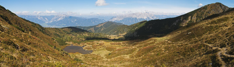 Montagna di Gumpeneck fotografie stock