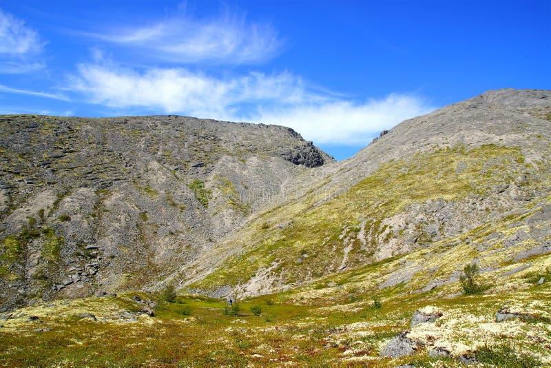 Montagna di Hibiny immagini stock