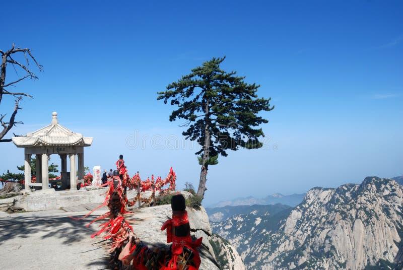 Montagna di Huashan di cinese fotografia stock libera da diritti