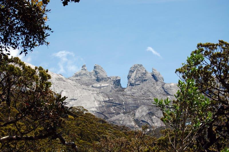 Montagna di Kinabalu immagine stock libera da diritti