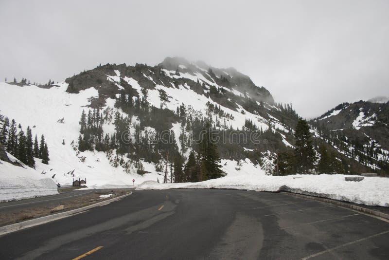 Montagna di nord-ovest di Snowy fotografia stock libera da diritti