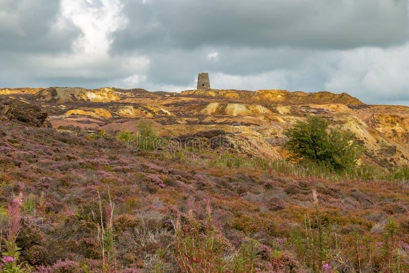 Montagna di Parys, Galles, Regno Unito immagini stock libere da diritti