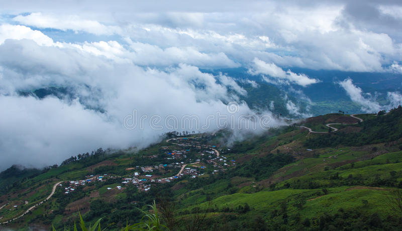 Montagna di Phutabberk, Tailandia immagine stock libera da diritti
