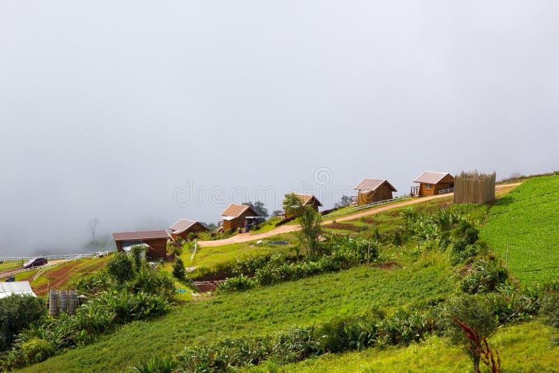 Montagna di Phutabberk, Tailandia fotografie stock