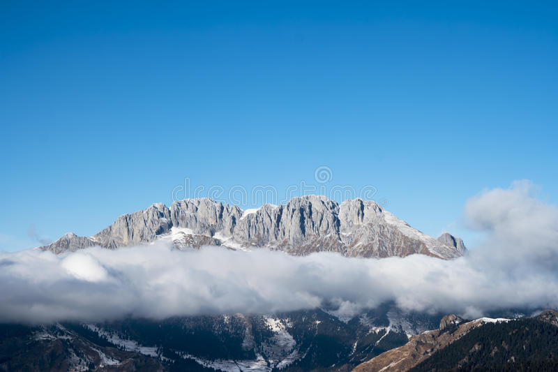 Montagna di Presolana - Bergamo immagine stock