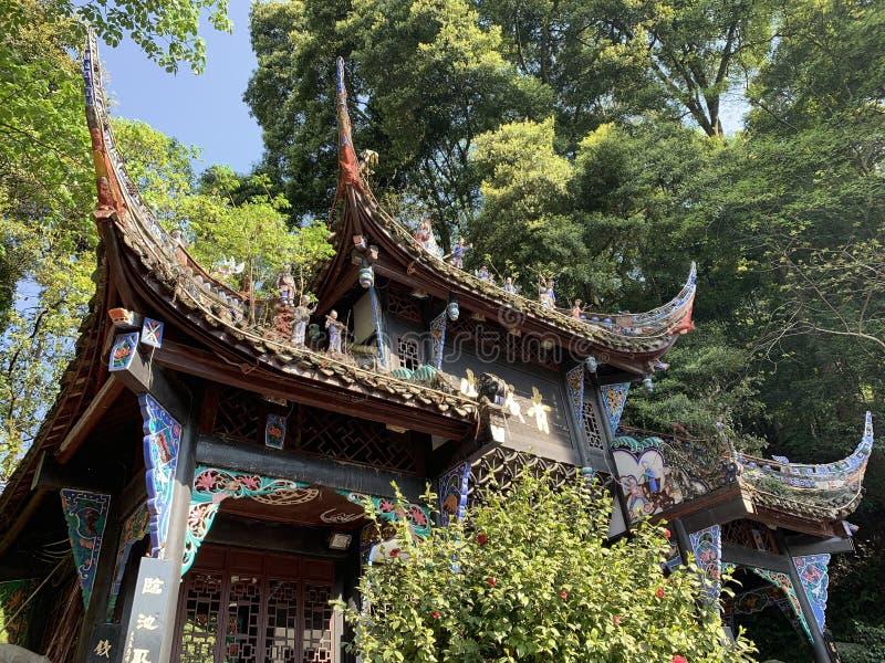 Montagna di Qingcheng immagini stock libere da diritti