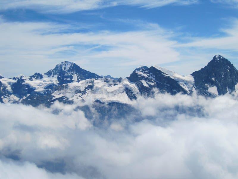 Montagna di Schilthorn immagini stock