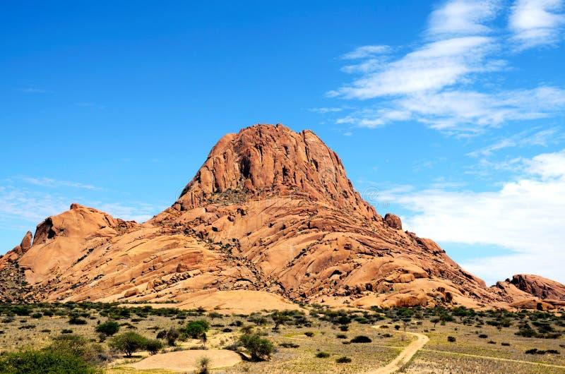 Montagna di Spitzkoppe immagini stock