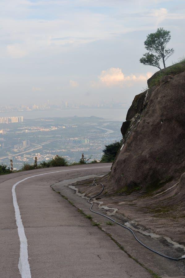 Montagna di Tai Mo fotografie stock