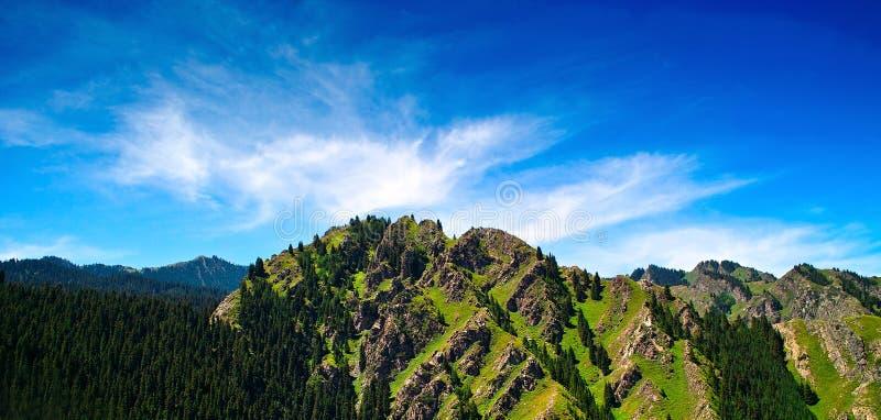Montagna di Tianshani immagine stock libera da diritti