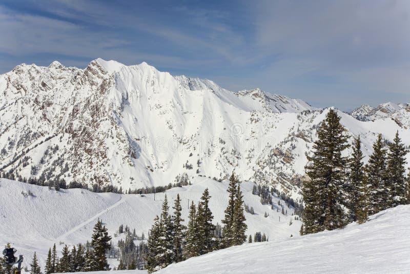 Montagna di Wasatch immagini stock libere da diritti