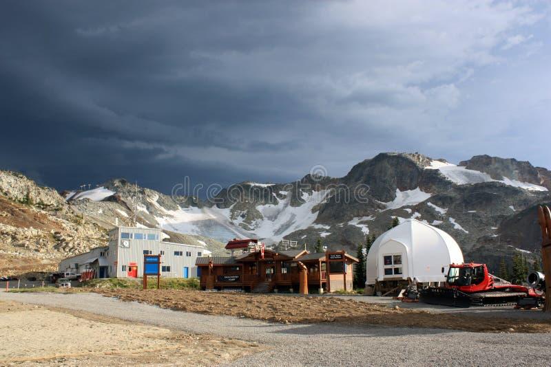 Montagna di Whistler fotografia stock
