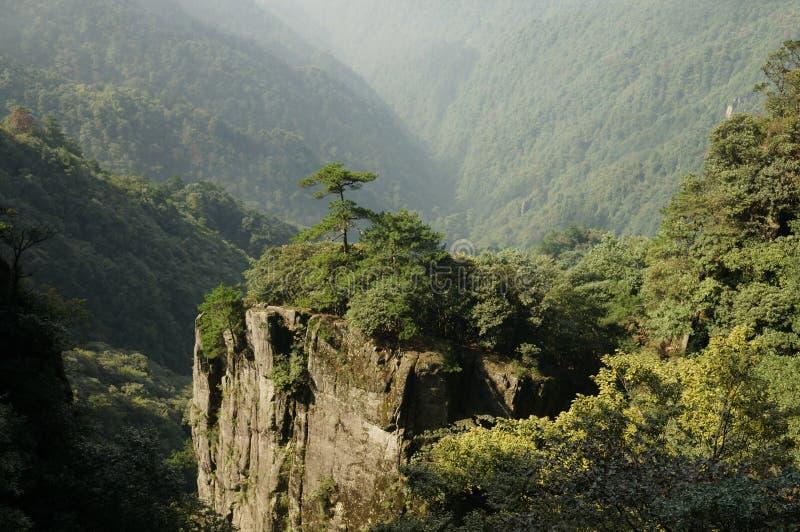 Montagna di Wugong fotografie stock