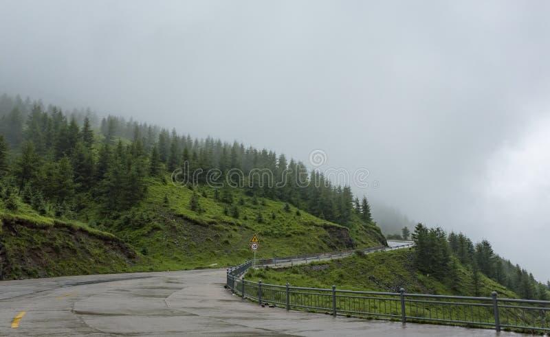 Montagna di Wutai immagine stock libera da diritti
