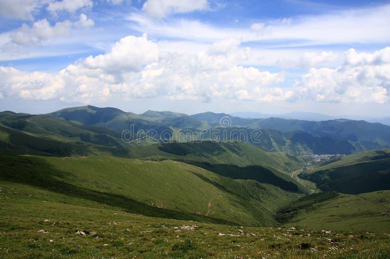 Montagna di Wutai fotografia stock libera da diritti