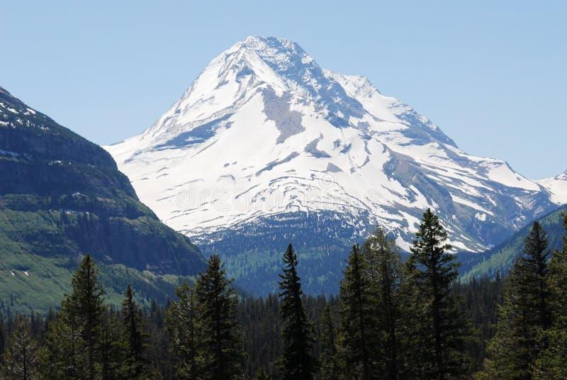 Montagna e ghiacciaio fotografie stock libere da diritti