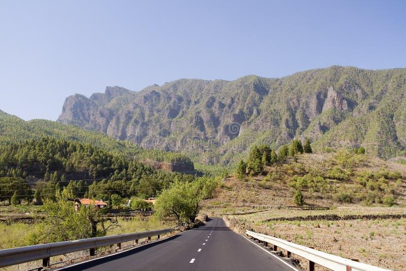 Montagna in La Palma fotografie stock libere da diritti