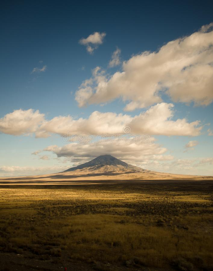 Montagna nell'Utah fotografie stock