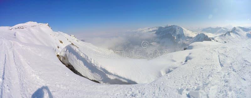 Montagna-panorama Austria over4k immagine stock