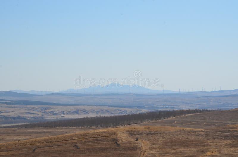 Montagna pesante nel pomeriggio immagine stock