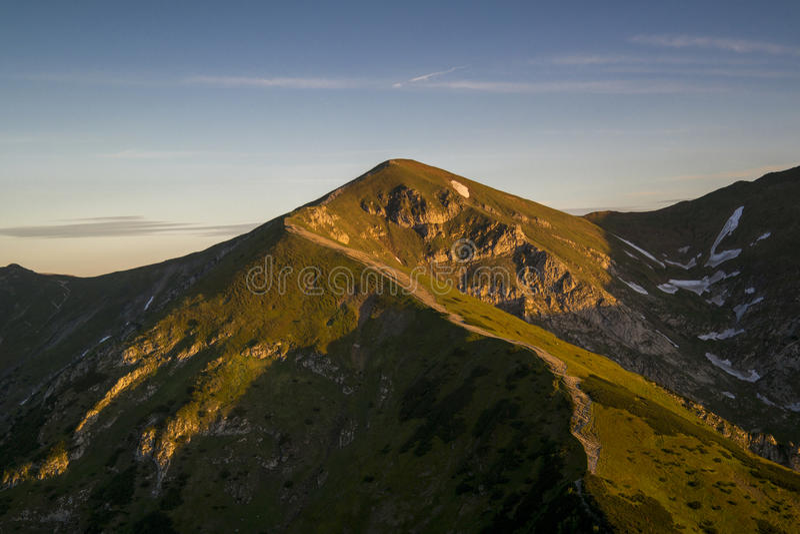 Montagna polacca fotografie stock libere da diritti