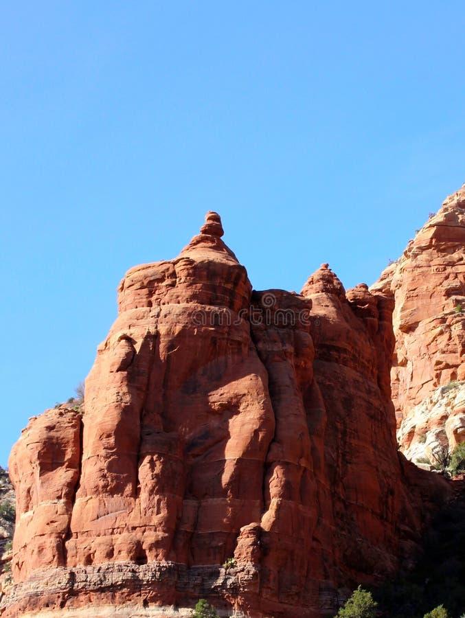 Montagna rossa della roccia vicino a Sedona, Arizona fotografia stock libera da diritti