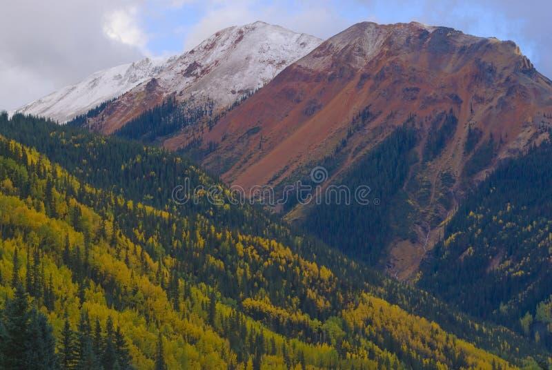 Montagna rossa Pass-01 fotografia stock libera da diritti