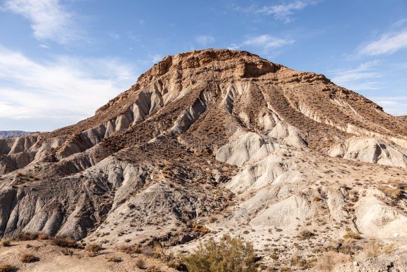 Montagna in Sierra Nevada spagnolo immagine stock libera da diritti