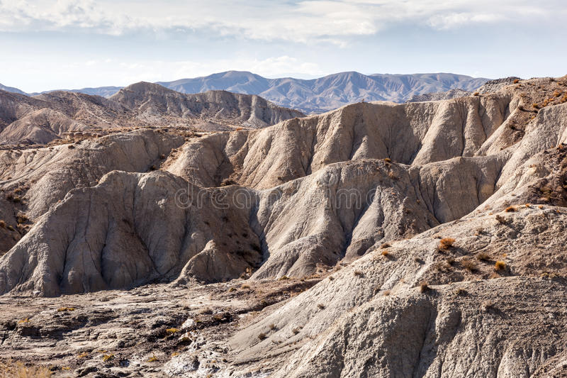 Montagna in Sierra Nevada spagnolo fotografia stock libera da diritti