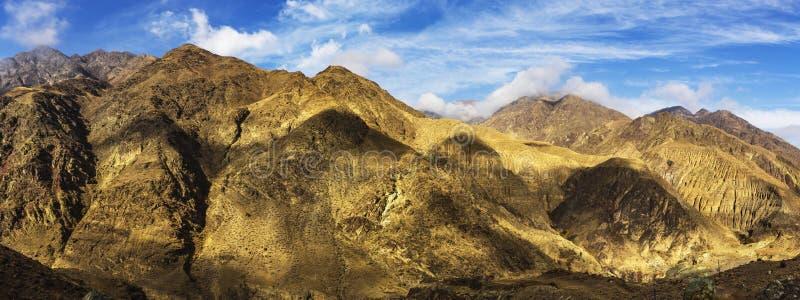 Montagna in Xinjiang, Cina di Tianshan immagine stock