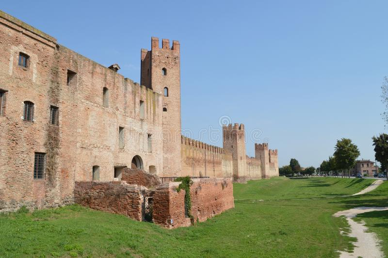 Montagnana royalty free stock images