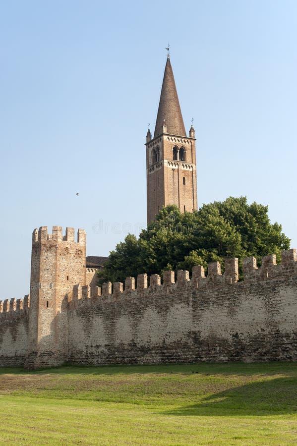 Download Montagnana (Veneto, Italy) - Medieval Walls Stock Photo - Image: 21164976