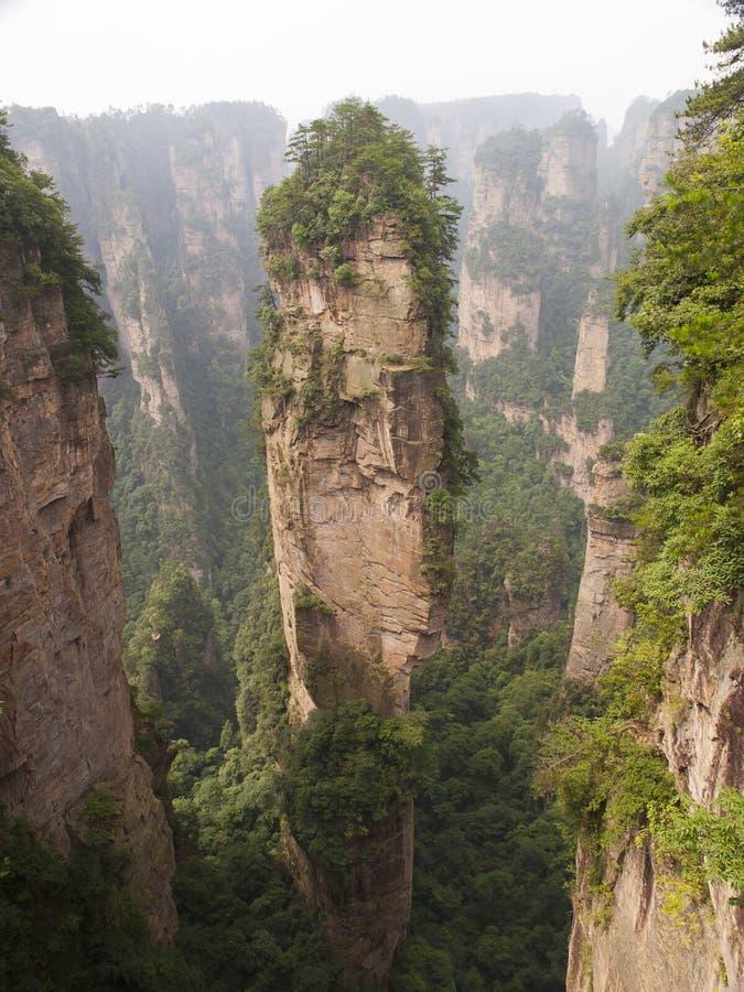 Montagne à Zhangjiajie photos libres de droits