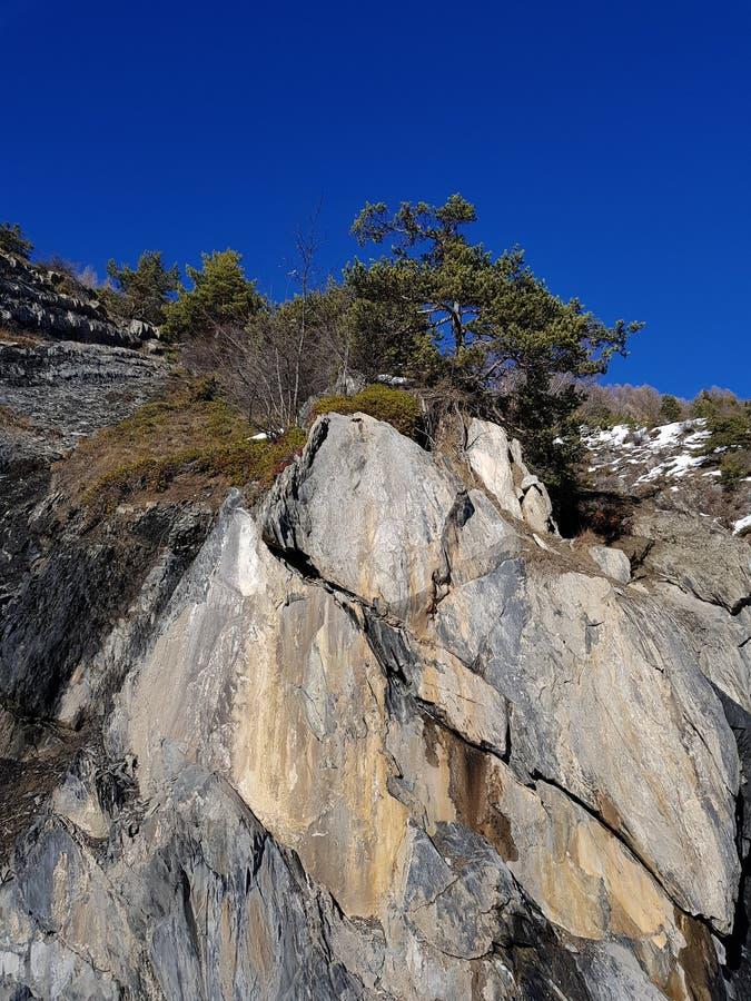 Montagne royalty-vrije stock afbeeldingen