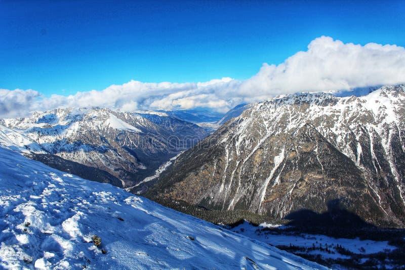 In montagne immagini stock libere da diritti