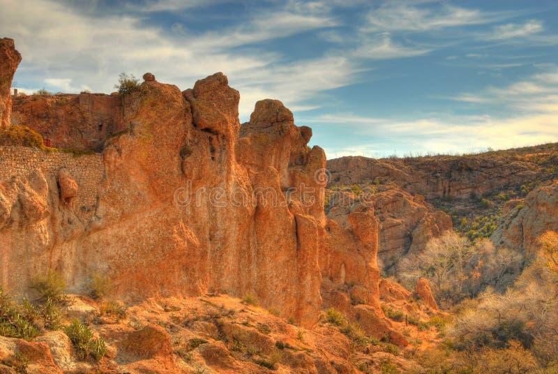 Montagne 7 de désert images stock