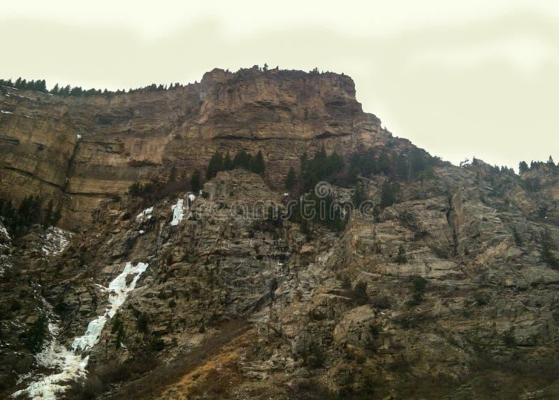 Montagne ad ovest fotografie stock