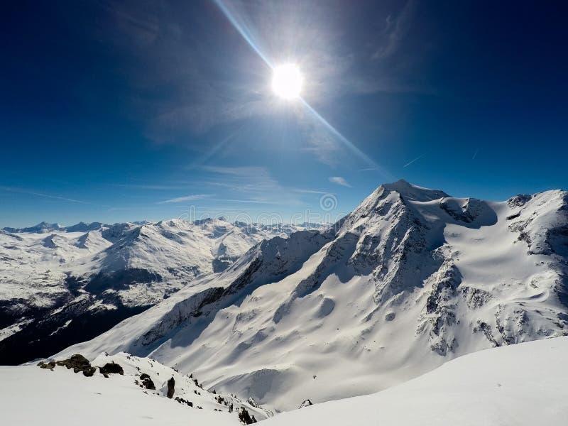 Montagne, Alpes, Frances images libres de droits