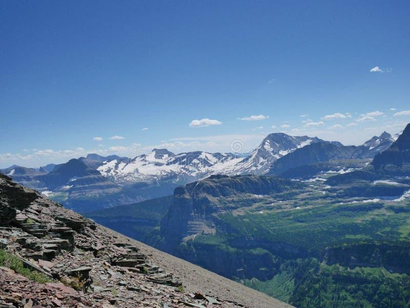 Montagne au Montana photos libres de droits
