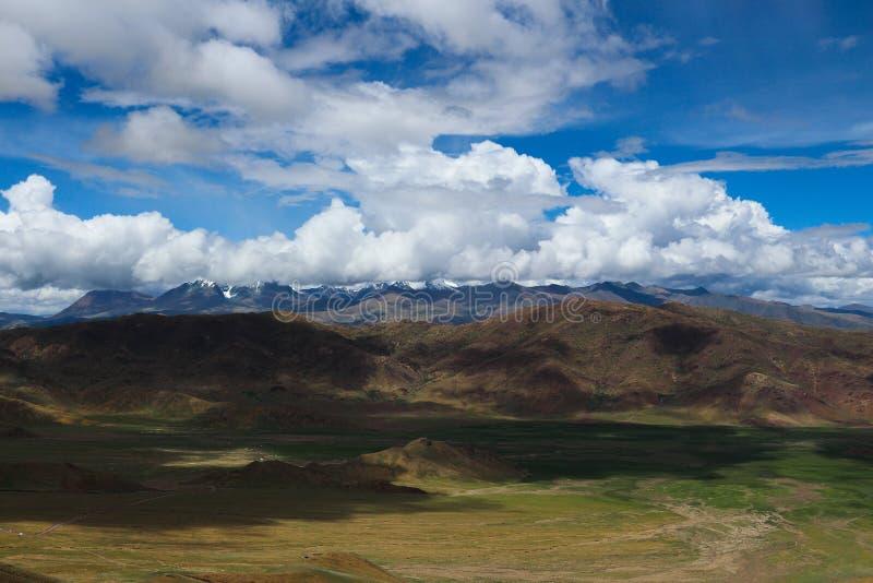 Montagne au Thibet image libre de droits