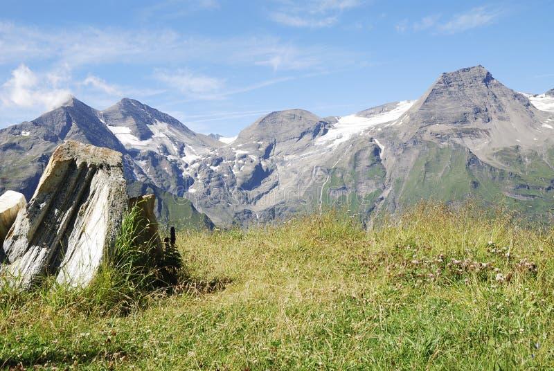 Montagne in Austria fotografia stock libera da diritti