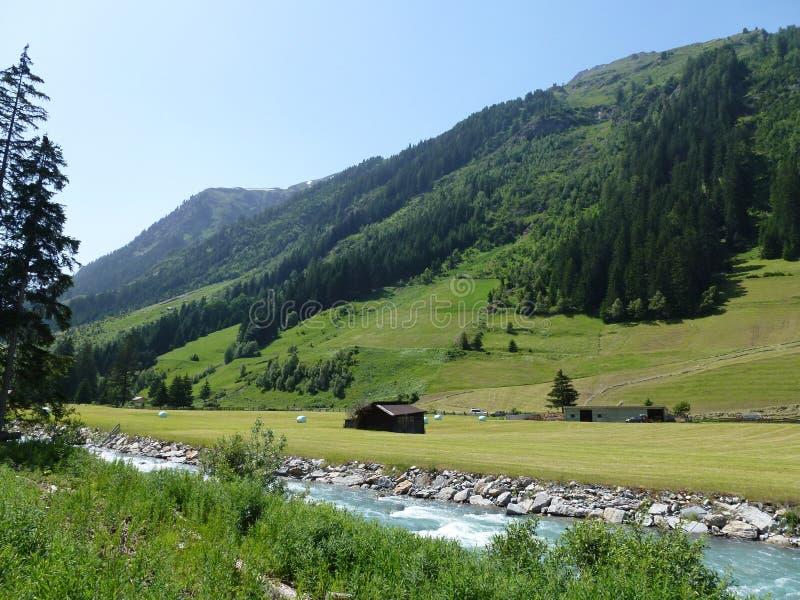 Montagne in Austria immagine stock