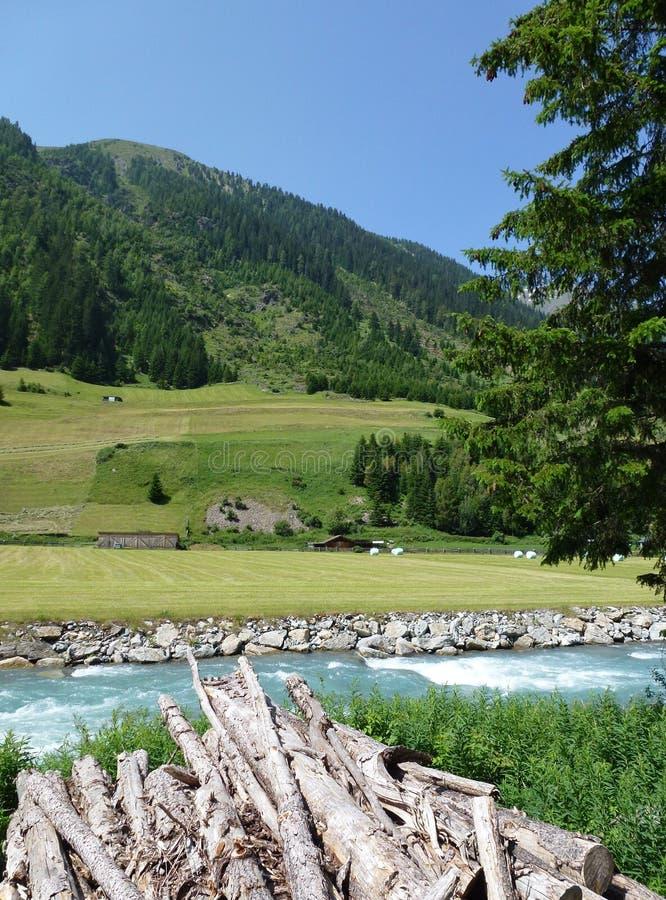 Montagne in Austria fotografie stock libere da diritti