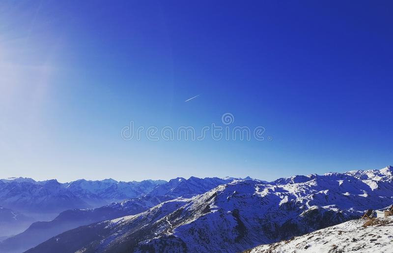 Montagne Austria fotografie stock libere da diritti