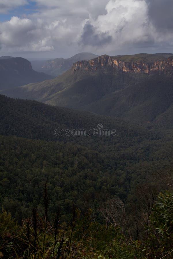 Montagne blu, NSW, Australia fotografia stock