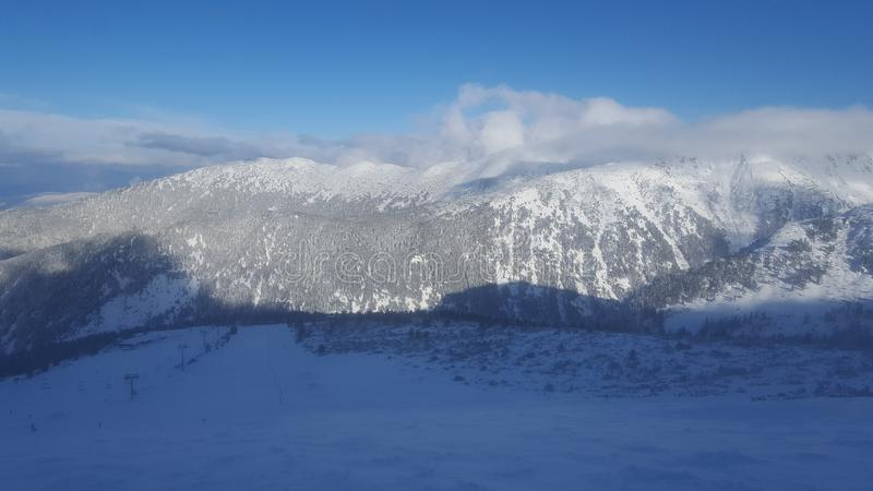 Montagne Bulgarie de Pirin photo stock