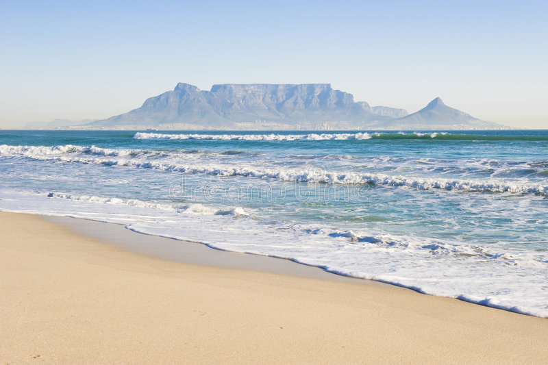 Montagne Capetown de Tableau photo stock