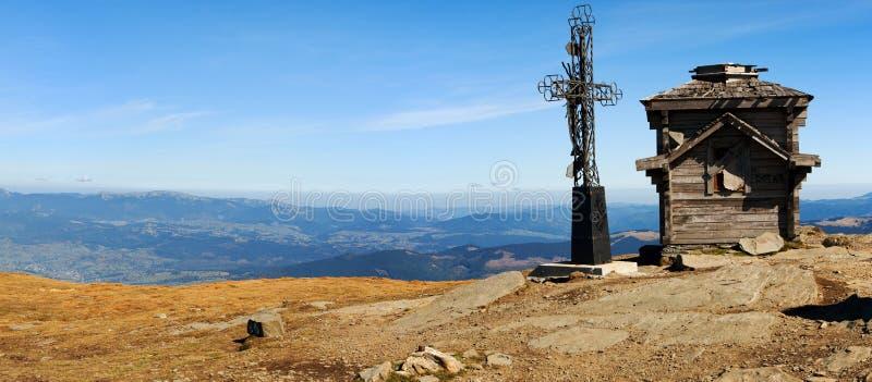 Montagne carpatiche dell'Ucraina fotografie stock libere da diritti