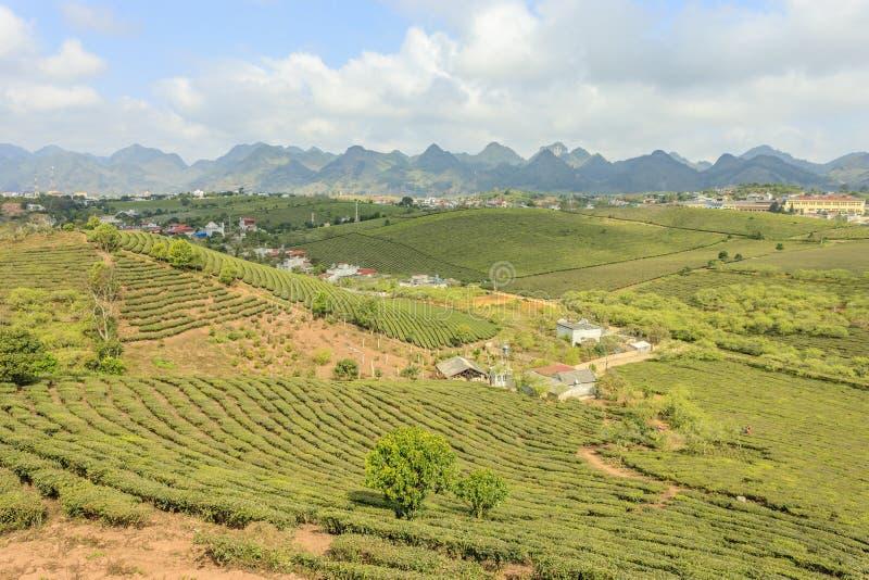 Montagne chez le Vietnam du Nord photographie stock libre de droits